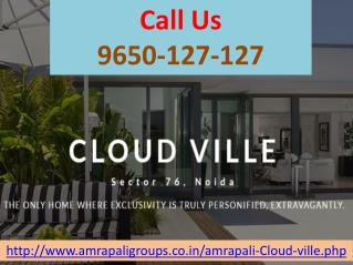Amrapali Cloud Ville Is Luxurious Villa @09650-127-127