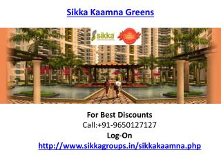 Sikka Kaamna Greens Residential Housing Project
