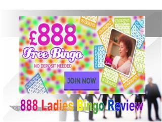 888 Ladies Bingo Review