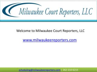 Realtime Court Reporter in Wisconsin