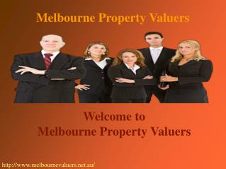 Find the best valuation services with Melbourne Property Valuers