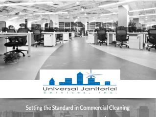 Find Professional Janitorial Cleaning Services