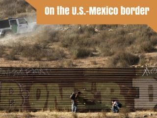 On the U.S.-Mexico border