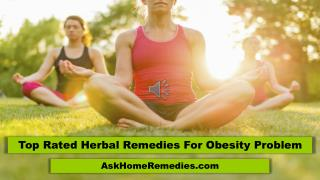 Top Rated Herbal Remedies For Obesity Problem