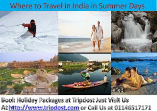 Summer-Tour-Packages-India