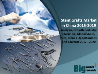 Stent Grafts Market in China 2015 - Size, Share, Growth & Forecast 2019