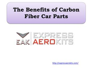 The Benefits of Carbon Fiber Car Parts