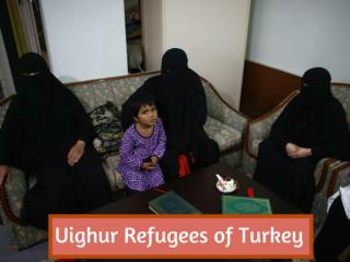 Uighur refugees of Turkey