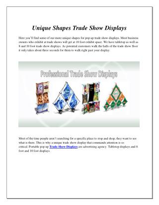 Trade Show Displays | Pop Up Displays in Hollywood