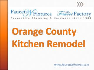 Orange County Kitchen Remodel
