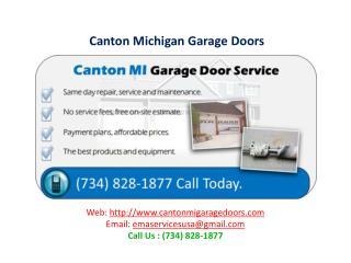 Canton Michigan Garage Doors