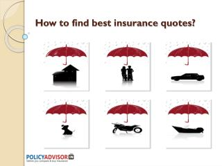How to find best insurance quotes