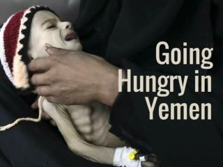 Going hungry in Yemen