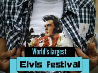 World's largest Elvis festival