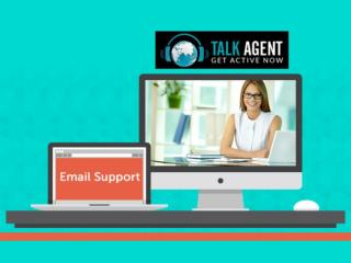 Email Support from Talk Agent