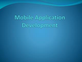 5 reasons why a businessman should invest in mobile application development