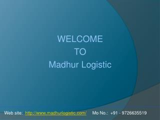 Road Transport in Ahmedabad | Road Transportation | Service