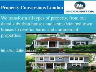 Property Conversions London