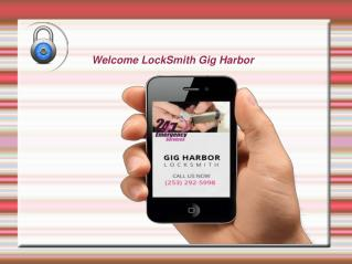 Locksmith in Gig Harbor