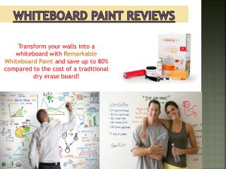 Whiteboard Paint Comparison