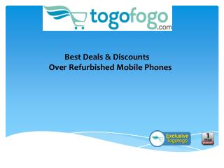 Buy Refurbished Nokia Mobiles Upto 70% Off on TogoFogo.com