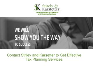 Get Instant Financial Help From Stitley and Karstetter
