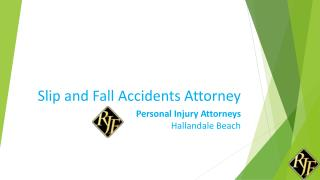 Slip and Fall accidents Florida