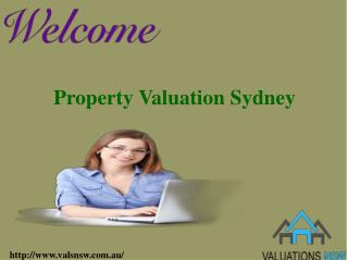 Valuations NSW: Compulsory Acquisition Property Valuations