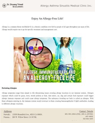 Overviewing Allergy, Allergy Treatments and Care