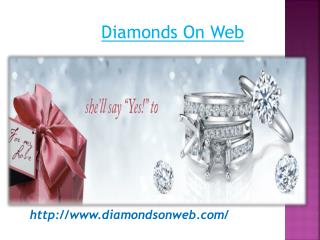 Unique Diamond Engagement Rings - Diamonds On Web
