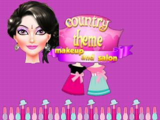 Country Theme Makeup and Salon