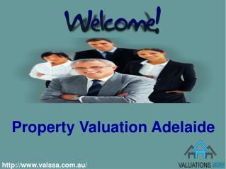 Acquire Property Valuation Services with Valuation SA