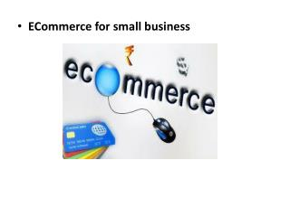 ECommerce for small business