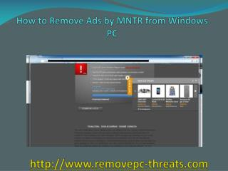 Remove Ads by MNTR: Best process to eliminate