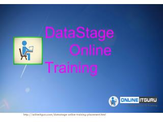 DataStage Online Training