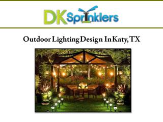 Outdoor Lighting Design Katy, TX