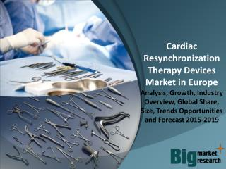 Europe Cardiac Resynchronization Therapy (CRT) Devices Market Size, Share & Forecast to 2019