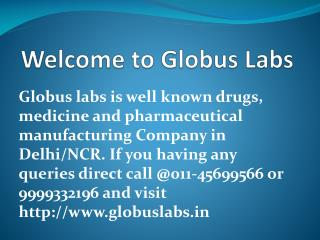 Drugs Company in Delhi NCR