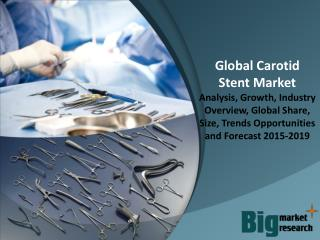 Global Carotid Stent Market 2015 - Size, Share, Growth & Forecast 2019