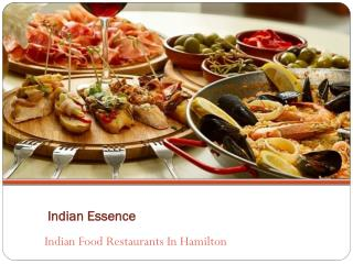 Indian Food Restaurants in Hamilton - Indian Essence