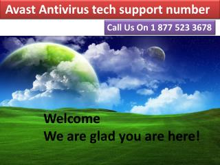 Dial@{1-877-523-3678} for Avast Antivirus tech support number