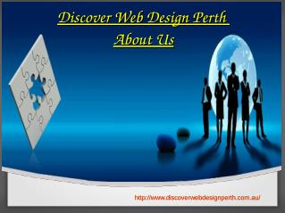 About us Discover Web Design