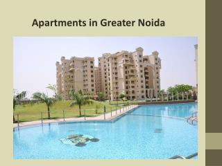 Modern Apartments for sale in Greater Noida
