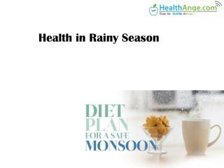 Health In Rainy Season