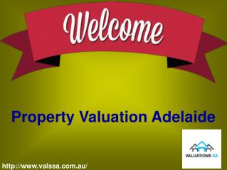 Come to Get Concern for Professional Property Solution with Valuation SA