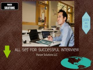 Panzer Solutions - Interview Tips | Panzer Solutions Job Opportunities