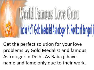 Famous Astrologer In Delhi India