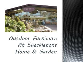 Branded Outdoor Furniture Products & Accessories