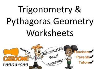 Trigonometry & Pythagoras Geometry Worksheets