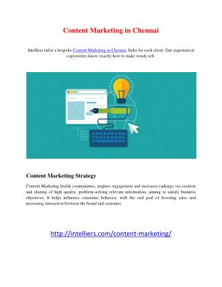 Content Marketing in Chennai